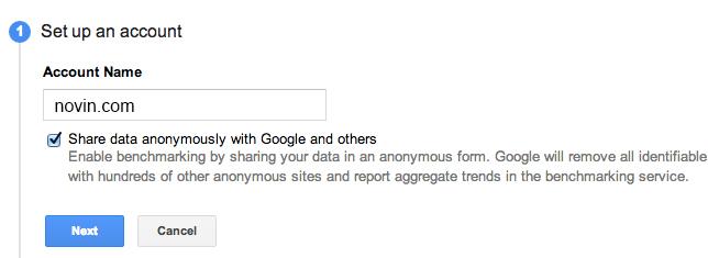 راهنمای نصب گوگل آنالیز یا آنالیتیک بروی وبسایت