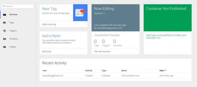 راهنمای نصب گوگل آنالیز یا آنالیتیکس از طریق گوگل تگ منیجر