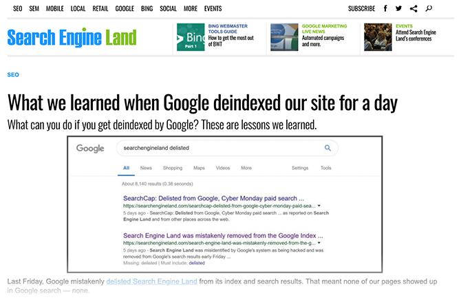 تأثیر هک شدن در رتبهبندی گوگل