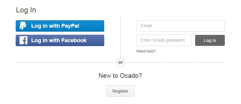 Ocado-Sign-in