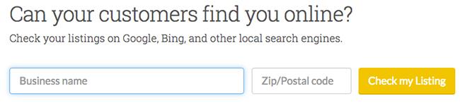 ابزار Moz My Check Listing
