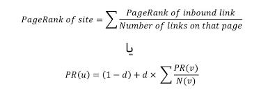 افزایش پیج رنک گوگل - فرمول محاسبه پیج رنک گوگل