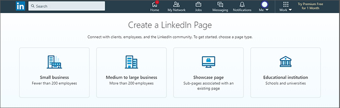 ساختن صفحه شرکتی در لینکدین2