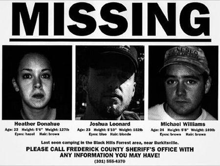"""""""این سه نفر گم شده اند"""" - تبلیغات کاملاً جدی فیلم ویچ بلیر"""