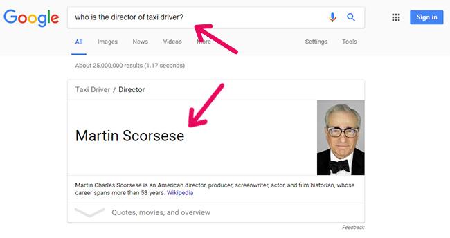 گوگل به سوالات کاربران پاسخ نمی دهد بلکه سئو این کار را می کند