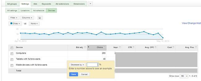 هدف گیری دستگاه نمایش دهنده در تبلیغات گوگل