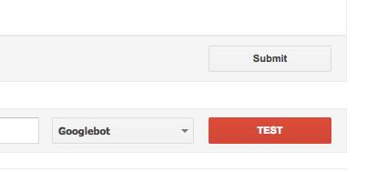 آزمایش فایل robots.txt در بخش robots.txt tester گوگل وبمستر