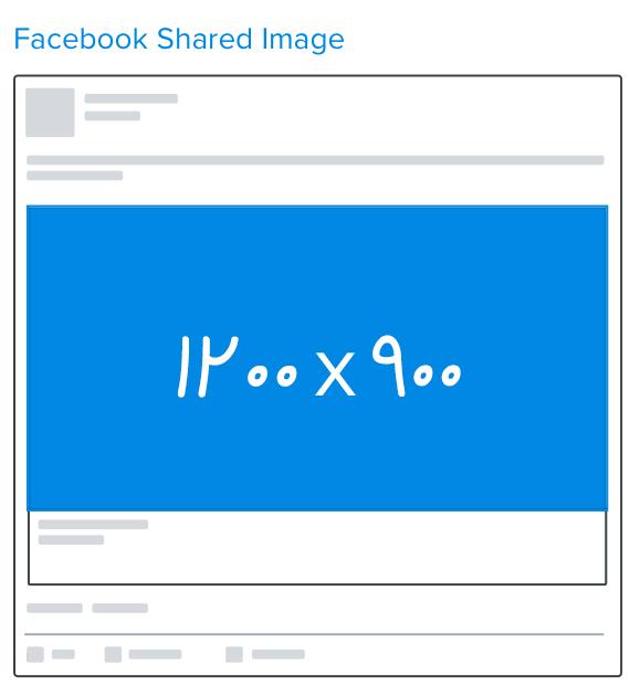 اندازه تصاویر و بهینه سازی تصاویر در فیسبوک