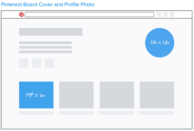 اندازه تصاویر پینترست - بهینه سازی تصاویر در پینترست