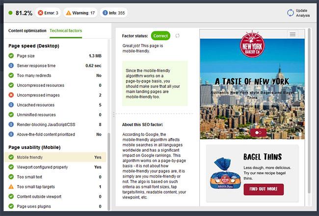 بهینه سازی فنی سئو در وسیله Seo PowerSuite