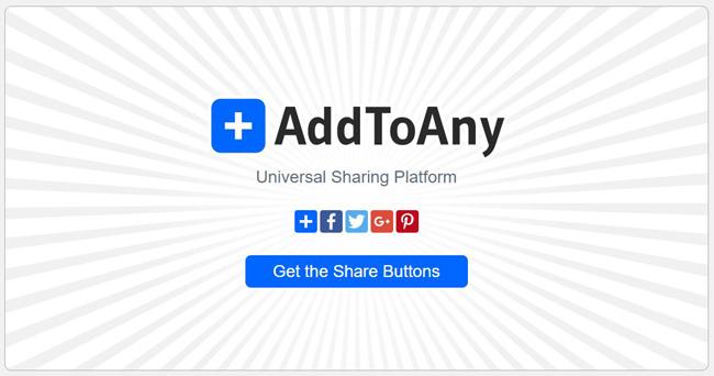 AddToAny: سرویس چیدمان دکمههای همرسانی در شبکههای اجتماعی