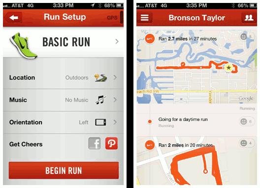 ادغام APIها در اپلیکیشن +Nike