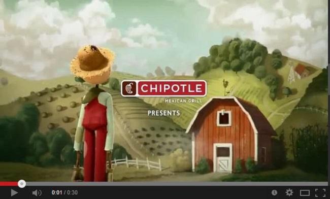 Chipotle قصه گویی در بازاریابی دهان به دهان