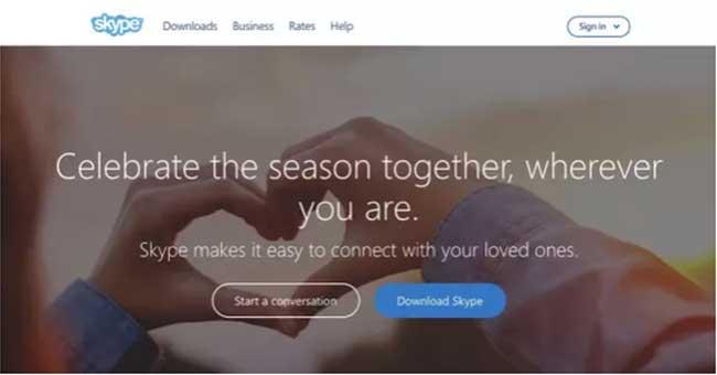 فراخوان عمل اسکایپ