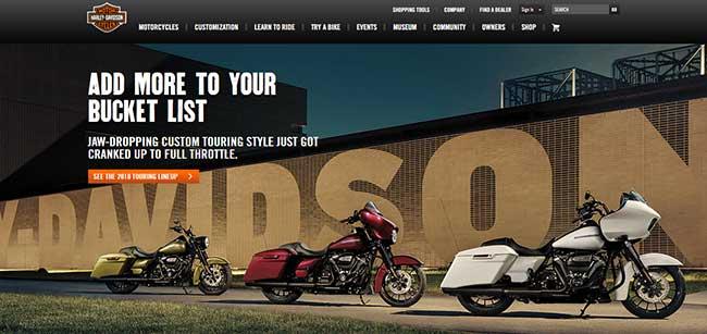 فراخوان عمل Harley Davidson