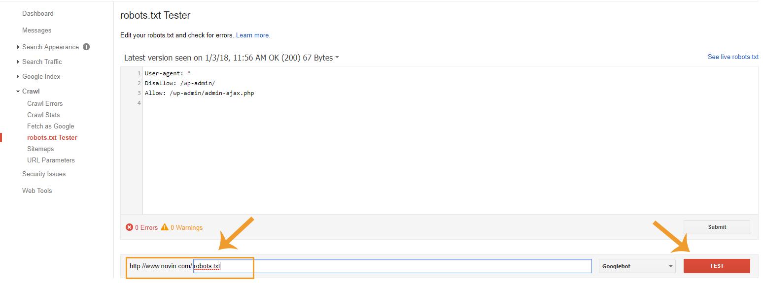 خطاهای Crawl Errors گوگل وبمستر