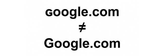 گوگل قلابی!