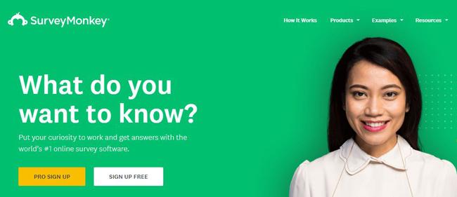 survey-monkey بازاریابی عصبی یا نورومارکتینگ چگونه دنیای تبلیغات را دگرگون کرده است؟