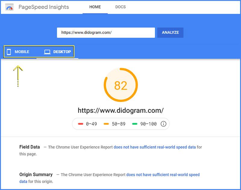 تست-سرعت-سایت-با-گوگل