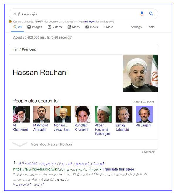 مثال الگورتیم freshness گوگل