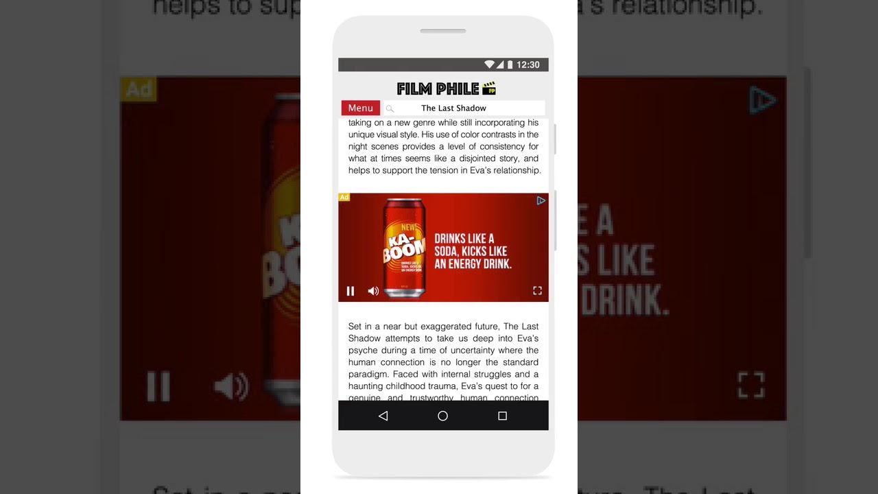 تبلیغ ویدیویی گوگل در موبایل