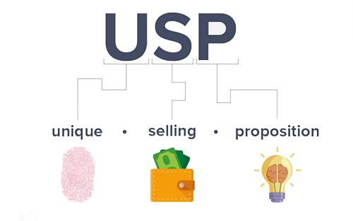 usp - پیشنهاد منحصربفرد فروش