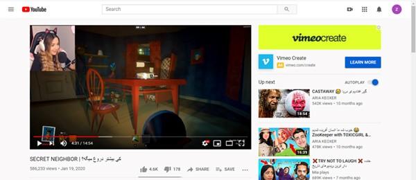 یوتیوبر گیم
