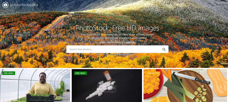photo stock editor