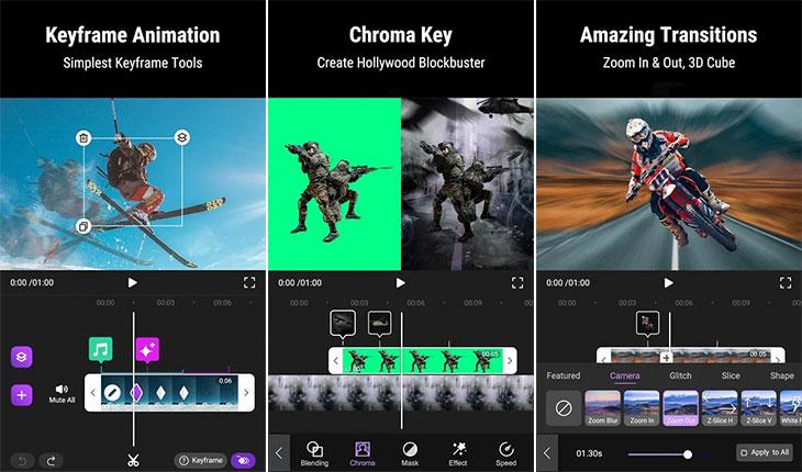 اپلیکیشن تولید محتوا در اینستاگرام – Motion Ninja