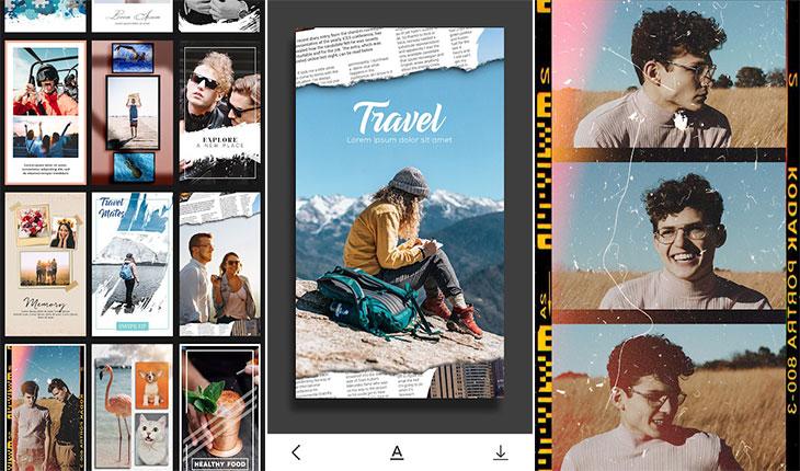 اپلیکیشن تولید محتوا در اینستاگرام - Storymaker