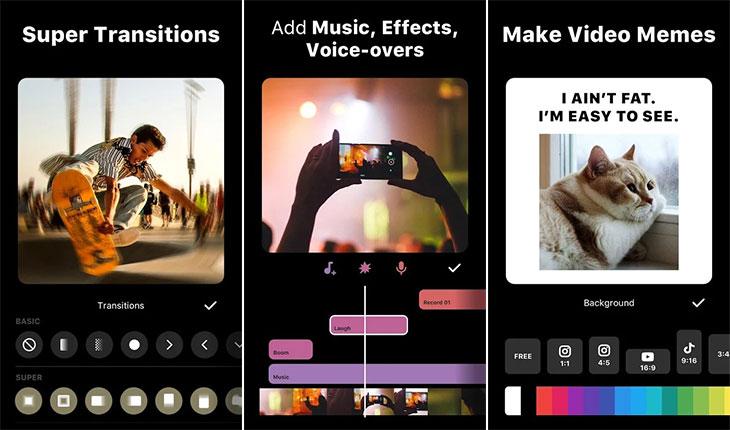 اپلیکیشن تولید محتوا در اینستاگرام - Inshot