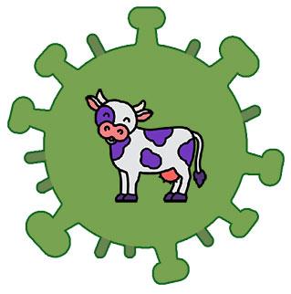 ویروس ایده و گاو بنفش