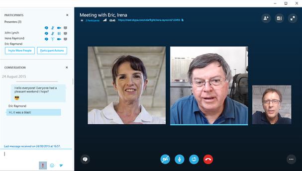 برگزاری جلسه آنلاین در اسکایپ (Skype)