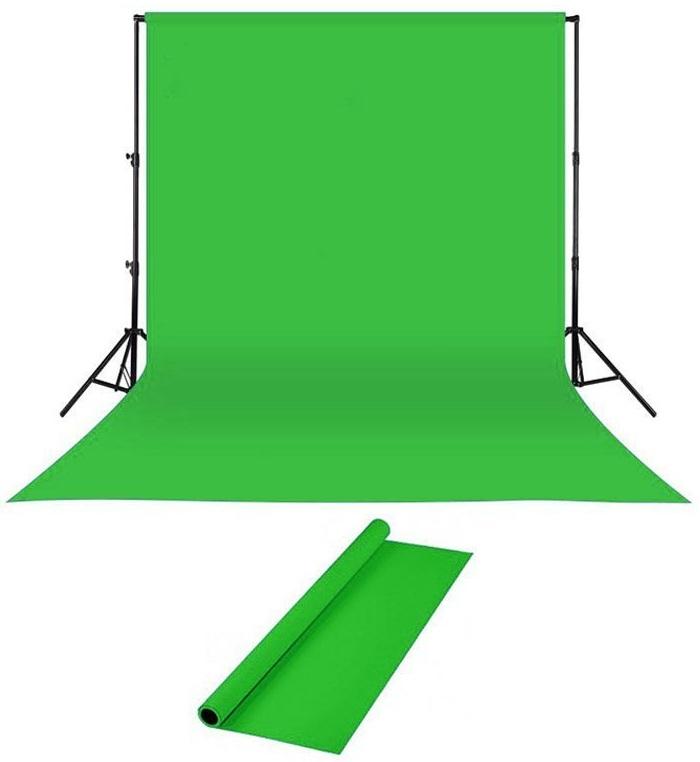 پرده سبز، پرده کروماکی، گرین اسکرین، حذف پس زمینه ویدیو با پرده سبز